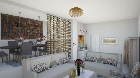 navidad - Living room - by zulay290