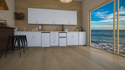 Beach house kitchen - Modern - Kitchen  - by Itsavannah