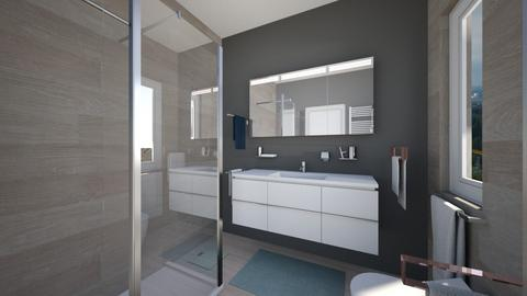 Cologno solo bagno nost10 - Bathroom - by natanibelung
