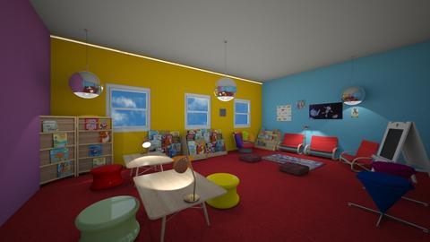 library area  - by fisherkara