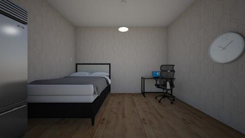 mijn gemaakte kamer - Classic - Bedroom  - by svenhenrixD