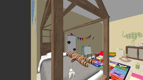 Habitacion Peque - Classic - Kids room  - by aatienzagordillo