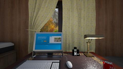 Country Home Office - Bedroom  - by WestVirginiaRebel