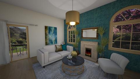 TM living - Living room - by Eszter Potor