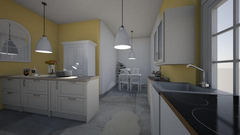 Small Kitchen with style - Kitchen - by AngelicaZhelez