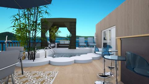 rooftop terrace - by wiwa