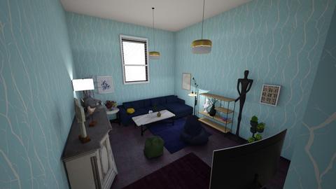 cat based room - Living room  - by uwuwuwuwu