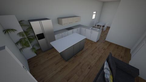 L kitchen Island - Kitchen - by KatyDavidson