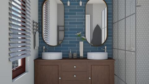 50s - Retro - Bathroom  - by bibi_pat