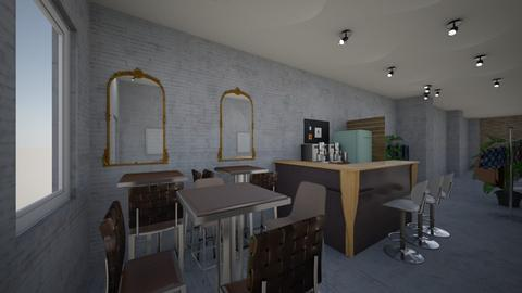 Cafe China town v3 - Office  - by Julia Nick