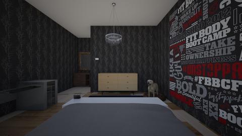 bedroom - Modern - Bedroom  - by lawrenceb