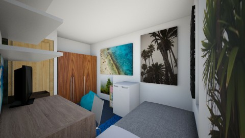 Dorm Room - Modern - by Nia_E