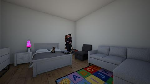 PROYECTO 1 - Bedroom  - by giane_rojas