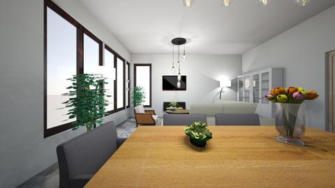 nieuw huis  - Living room  - by MThiessen