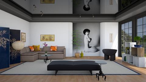 A Room with Araki - Modern - Living room  - by 3rdfloor