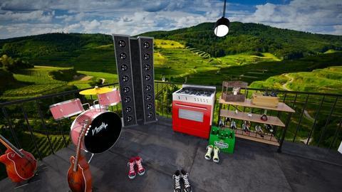 malam - Modern - Living room  - by enotbillies