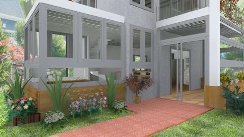 Modular House - Modern - Garden - by Bibiche