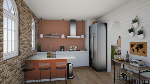 RUST APPT - Kitchen  - by 32103sarah