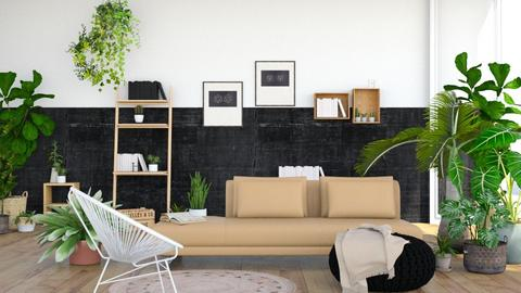 Jungle - Living room  - by ArtHousedeco