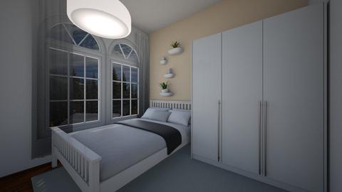 BW - Minimal - Bedroom - by Twerka