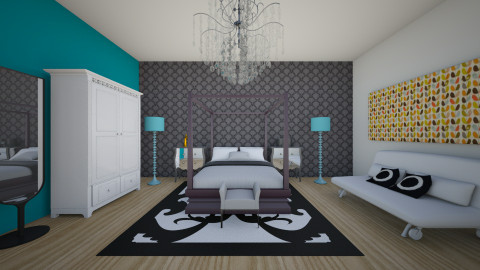 Girl Room - Bedroom  - by Ingrid Design