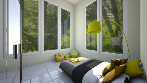 Yellime bedroom - Minimal - Bedroom  - by Banner Houston
