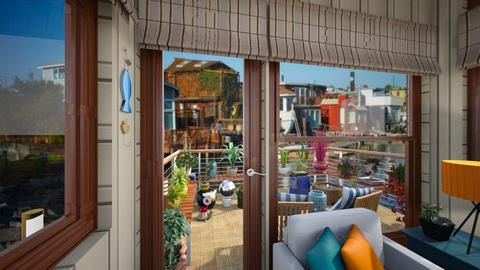 container home patio  - by Teri Dawn
