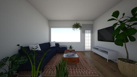 Liraz - Living room  - by erlichroni