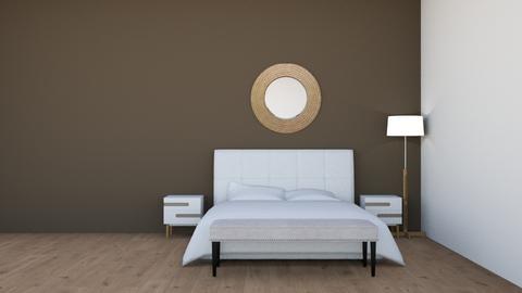 Sleek_Modern Bedroom - Bedroom  - by BubbleSloth