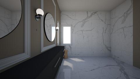 Cathy and Paul - Bathroom  - by greyspace