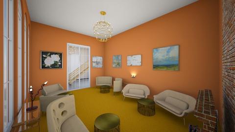 Utah Faye - Living room  - by emivim