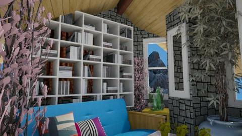 four - Living room - by Scelir