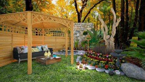 Flower Garden - Garden  - by Feeny