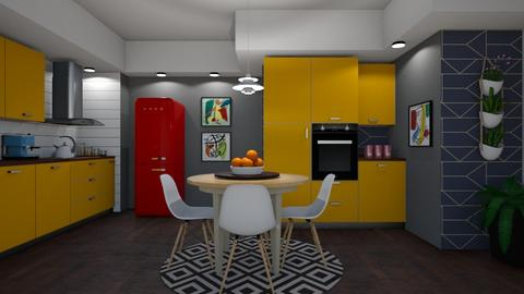 Colors  - Kitchen - by Sanare Sousa