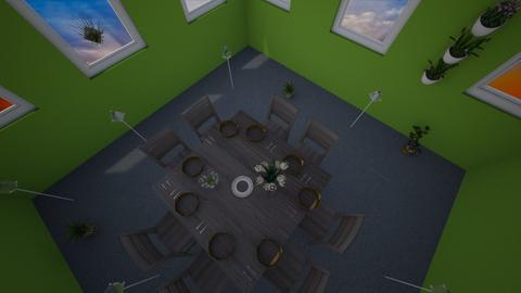 Contest entry - Classic - Dining room - by LohanR