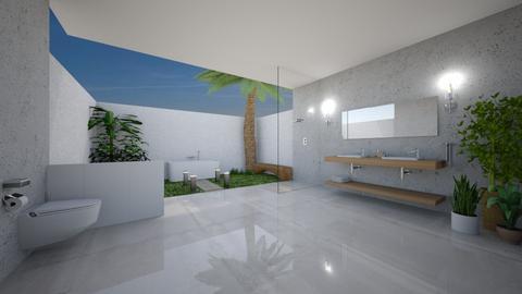 Relaxing Bathroom - by rojasveronik