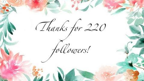 Thanks For 220 followers - by cagla_deniz_