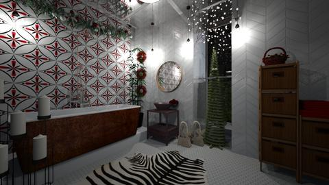 Xmas freak - Bathroom - by Rubella