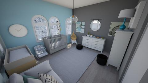 Nursery - Kids room  - by Chayjerad