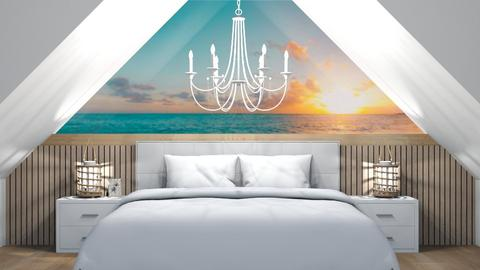Sloping Ceiling - Bedroom  - by LD16