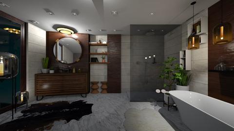 mcm br - Bathroom - by willhenning
