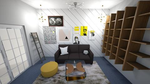 living playful - Living room - by iampebbles
