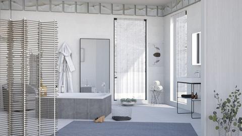 Winter sunlight - Bathroom  - by milyca8
