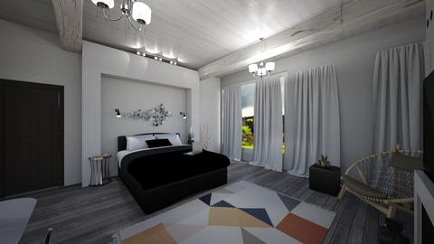 Cozy Room - Rustic - Bedroom  - by ghhvghgvhvgvhvb