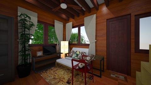 wooden house 2 - by selperu