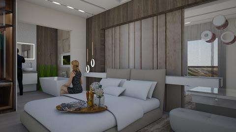 blue dream - Modern - Bedroom - by szaboi