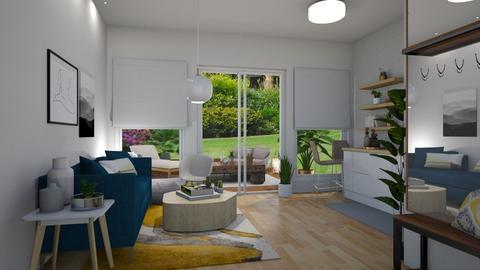 Garden template - Living room - by luiza cruz
