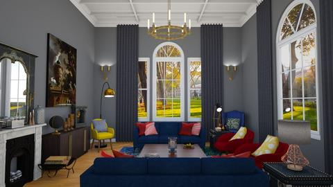 Grand Parlor - Eclectic - Living room  - by laurenpoisner