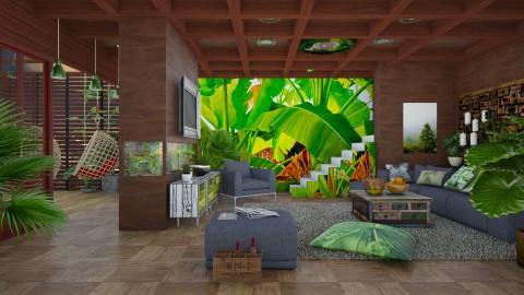 my tropical home  - Modern - Living room  - by Ida Dzanovic
