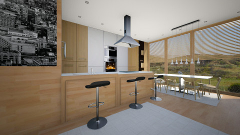 my love kitchen 4 - Modern - Kitchen  - by Evangeline_The_Unicorn
